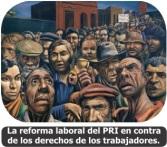 Tríptico Anad No a las Reformas del Pri Pan a la LFT