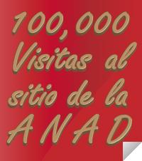 100,000 visitas al sitio de la ANAD